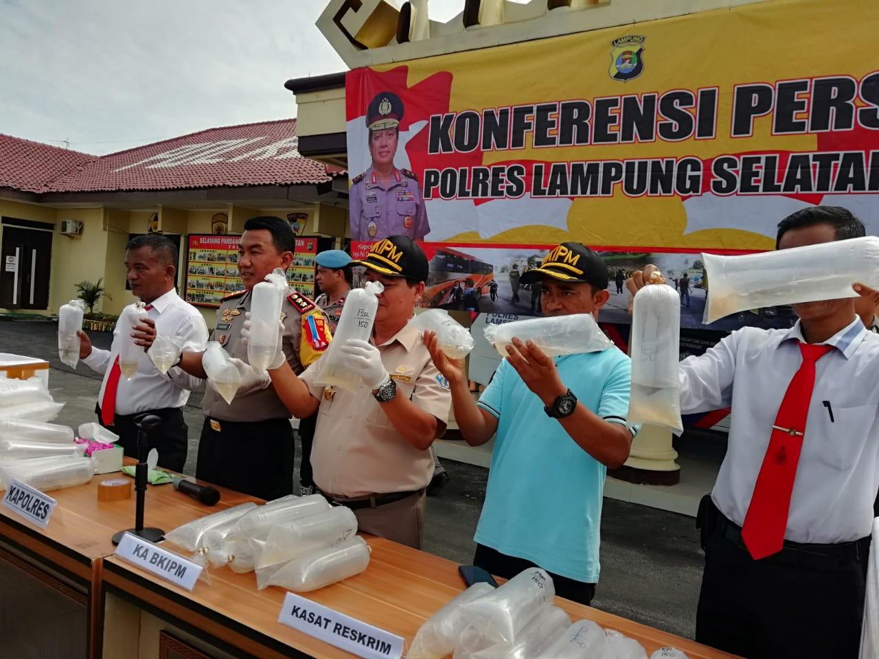 IMG-20181113-WA0027 Penyelundupan 70.950 Ekor Bibit Lobster Berhasil Digagalkan Jajaran Polres Lamsel