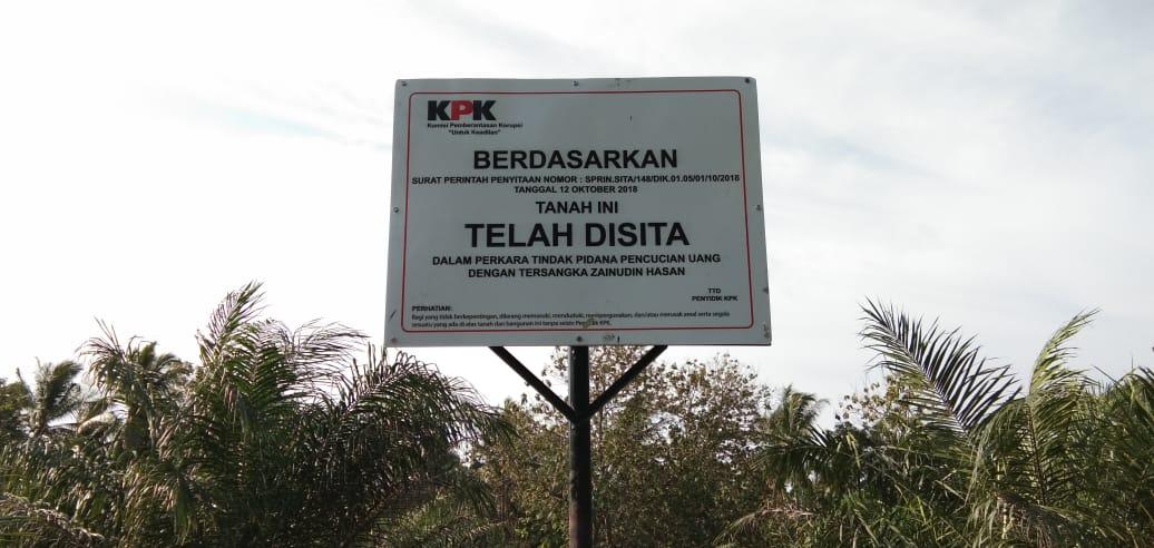 IMG-20181117-WA0096 KPK Kembali Sita Aset Zainudin Hasan, Kali Ini Di Desa Kota Dalam