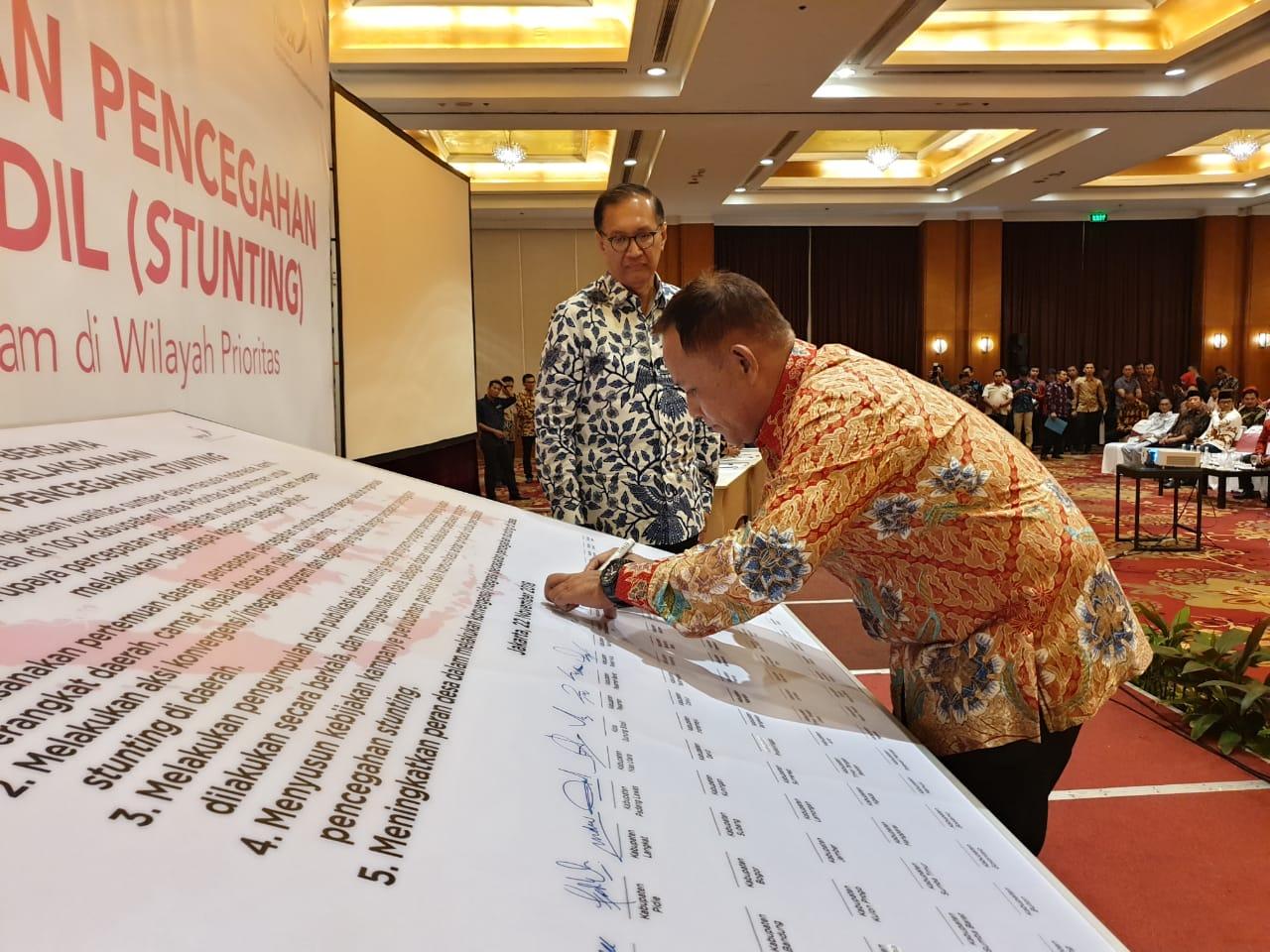 IMG-20181122-WA0199 Tahun Ini Di Lamsel Angka Stunting 30%, Tahun Depan Pemkab Targetkan Kurang Dari 20%