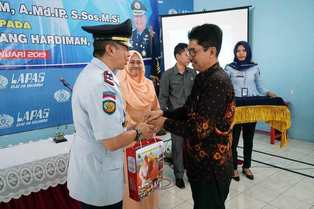 IMG-20190110-WA0062 Kakanwil Kemenkumham Lampung Pimpin Sertijab Kalapas Kelas II A Kalianda