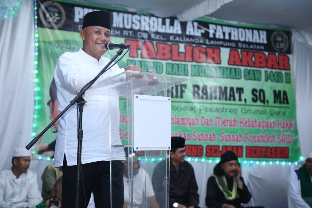 IMG-20190113-WA0005-1024x682 Nanang Pinta Doakan Para Korban Tsunami Saat Hadiri Maulid Nabi Muhammad SAW 1440 H