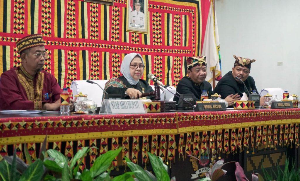 IMG-20190318-WA0025-1024x618 DPRD Lamsel Gelar Paripurna Istimewa Rangka HUT Lampung Ke 55 Tahun